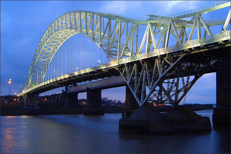 Runcorn Bridge - Frank Rooney