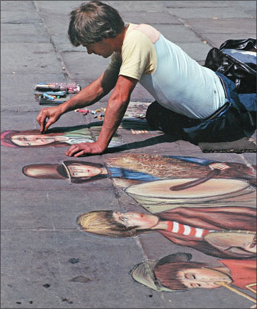 Pavement Artist, Joe Allerston