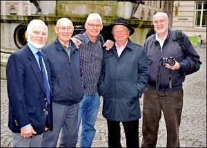 L to R  John R, Ted, Tony, John Sergeant and Colin.