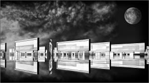 'Reflections' byPaul Matthews, Creative & Avant Garde Mixed  (Best Mono Creative Image)