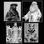 41 Living Statues