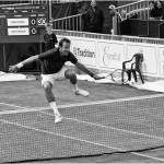 3rd Place, 'Greg Rusedski across the Net' by Paul Matthews