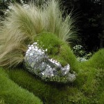Commended, 'Naked Grass Lady, Chelsea Flower Show' by Catherine Rouse