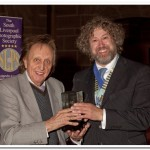 Paul Matthews, our President receiving one of many awards from Ken Dodd OBE
