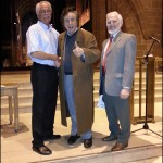 Peter McCormick, Ken Dodd and John Riley