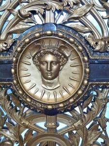 Bronze Door Detail, St Georges Hall, Liverpool. PDI Winner