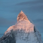 First Light Matterhorn Summit
