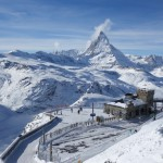 Gornergrat Station and Matterhorn