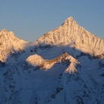Schalihorn and Weisshorn