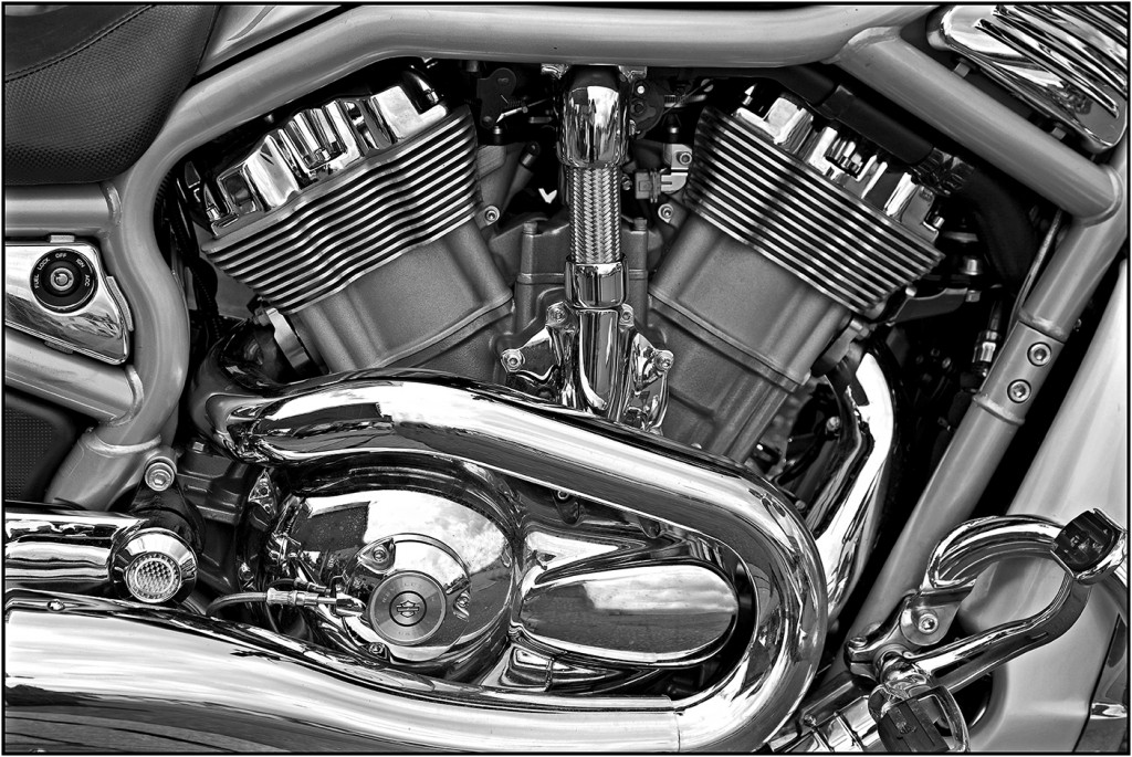 05_HARLEY DAVIDSON_ENGINE DETAIL