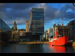 'Salthouse Dock' by John Thomson