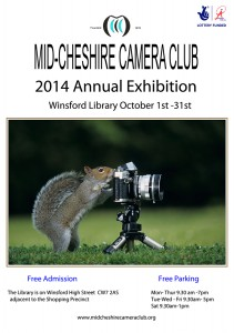 Mid Cheshire Exhibition advert