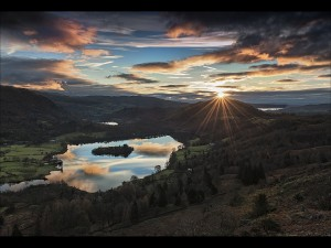 05 SLPS First light over Loughrigg by Thomas Jeffers