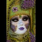 07 Venice Carnival Portrait by Martin  Reece