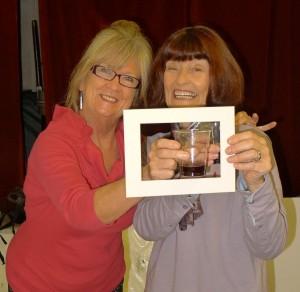Irene Drummond and Barbara Green