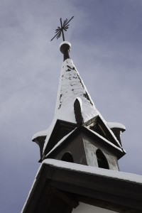 Rifflealp church tower