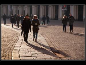 'Afternoon Stroll' by Alan Shufflebotham