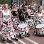 """ Liverpool Batala Band"" by Mike McWade"