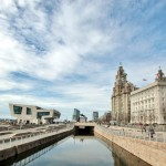 """Pier Head and Canal"" by Bert Whittlestone"