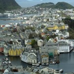1st Place Colour Print and Overall Winner - Angelica Smith with this stunning view of Alesund, Norway