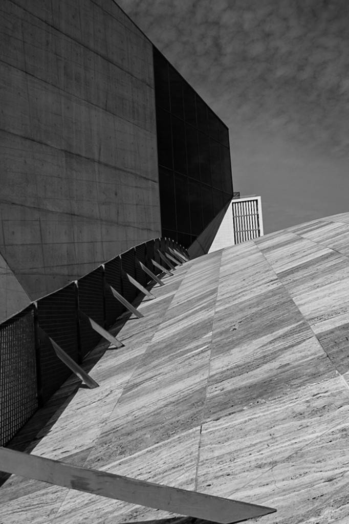 'Architectural Lines' by Tracey Dolan, was the Monochrome Print Winner