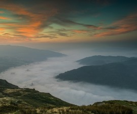 "First Place Digital Colour and Best Image of the Competition.  ""Temperature Inversion"" by Tom Jeffers"