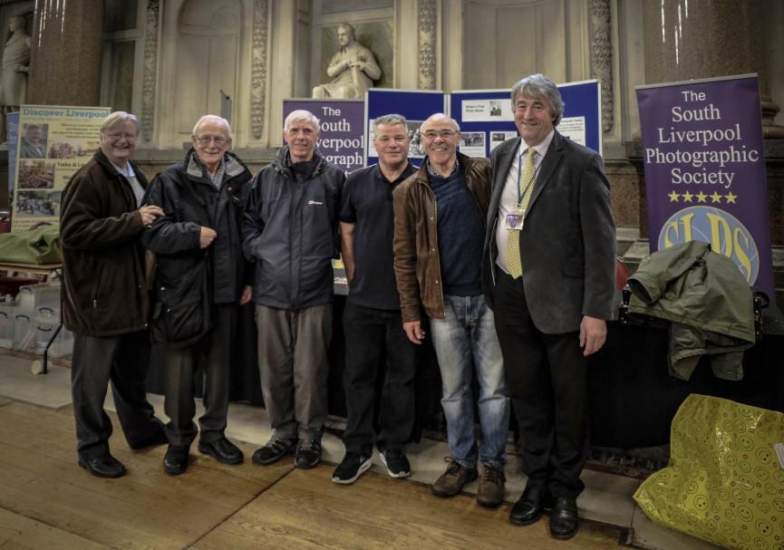 End of Day 1 Ken Pye, Bill, John Mines, Ian Kemp, Ian Murren and Mike Lawson