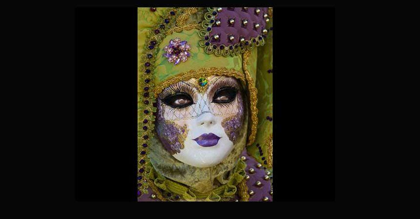 Venice Carnival Portrait