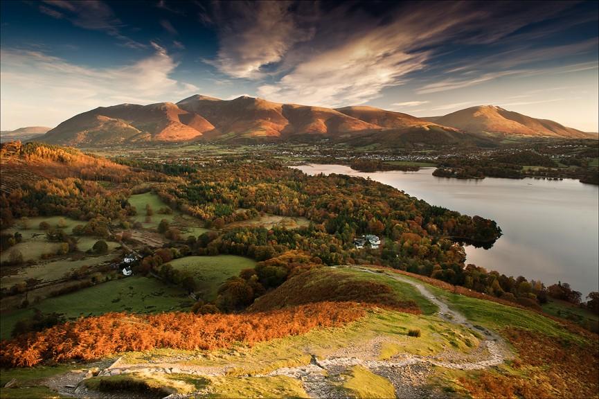 Autumn from cat bells