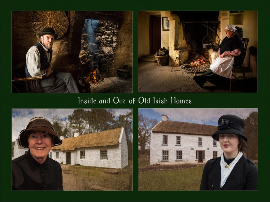 Inside and Out of Old Irish Homes by Paul Matthews