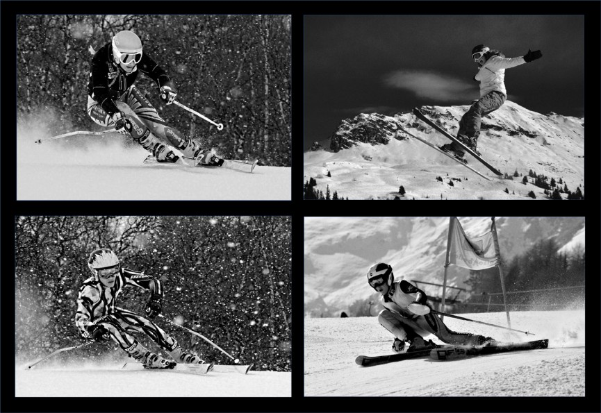Snow sports by John Thomson