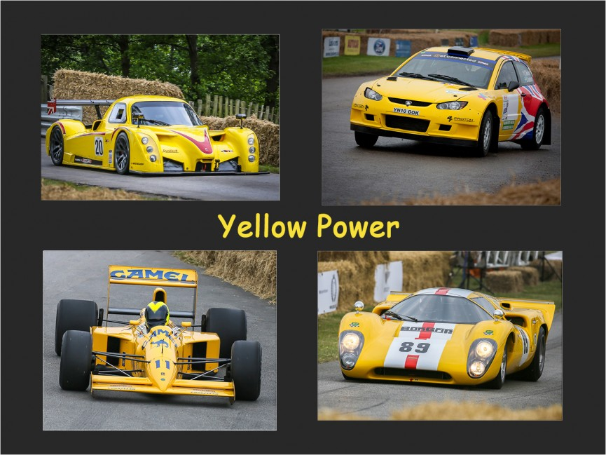 Yellow Power by Martin Reece