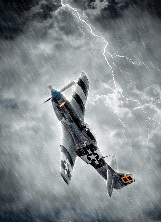 "First Place Colour Print ""Storm Chaser"" by Dave Harding"