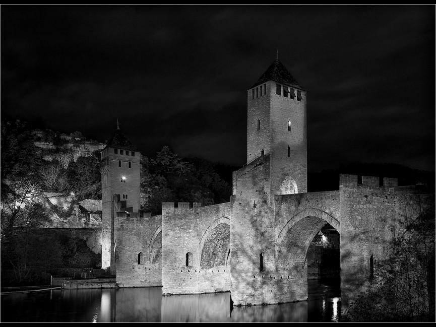"First Place Mono PDI ""Ponte-Valentre"" by Paul Matthews"