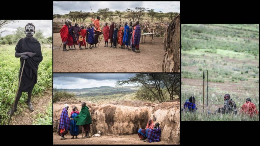 Masai Life by Derek Gould