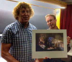 Paul Matthews' winning print.