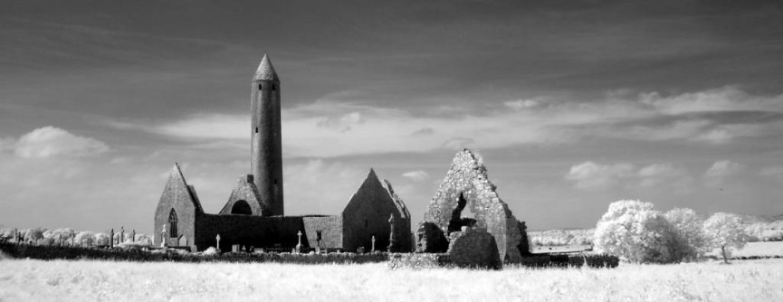 11th Century Round Tower Ireland - Angelica Smith