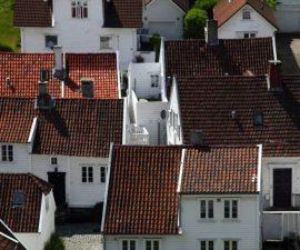 Roofs of Stavanger by John Snape