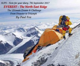 Paul Fox Lecture on Everest.