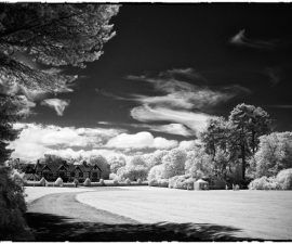 Speke hall Infra Red by Mal Holmes