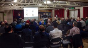 A full house for Terry Donnelly and Sony Cameras