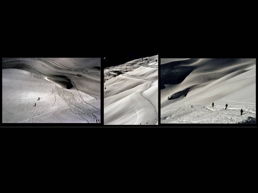 """1st Place PDI Mono """"Paths in the Snow"""" by John Thomson"""