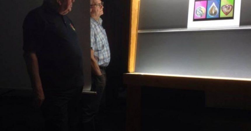 Bob Dennis judging Panel Competition 2018