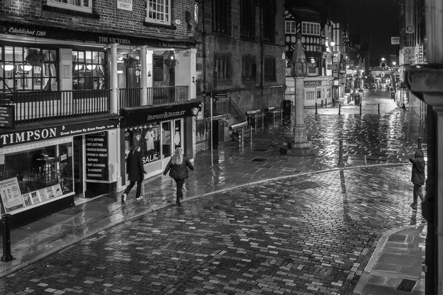 A Wet Night in Chester_Derek Gould