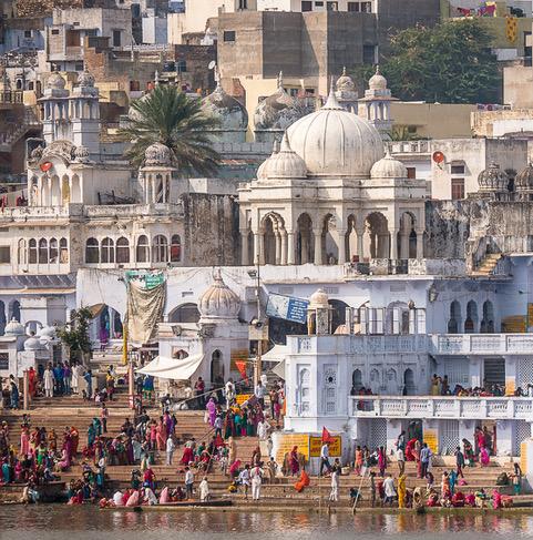 Rajasthan, Bathers_Derek Gould-2