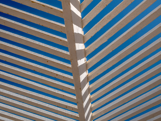 Slatted Roof, Safaga, Egypt_Derek Gould