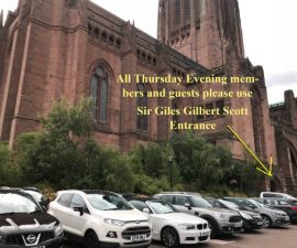 Car Park and entrance for members and guests on Thursday 26th July from 6.30 - for 7.30 start.
