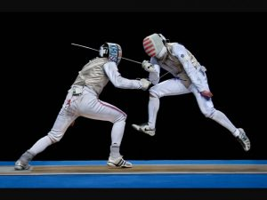 A B- Fencers in Motion - 199 NOEL PATTERSON