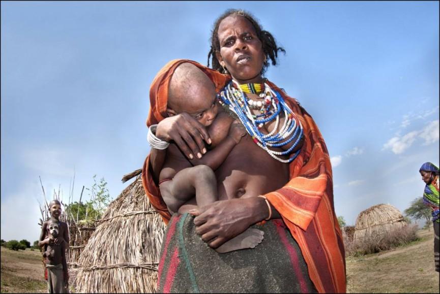 Tribal Woman, Ethiopia by Margaret Salisbury