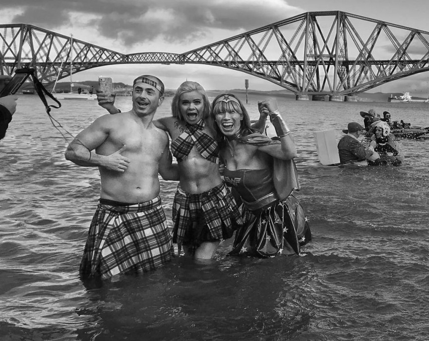 First Place Digital Mono - Irene Dummond 'Loony Dook'
